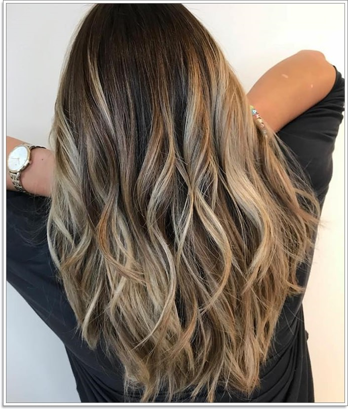 145 Amazing Brown Hair With Blonde Highlights Inside Highlights For Long Hair (View 10 of 25)