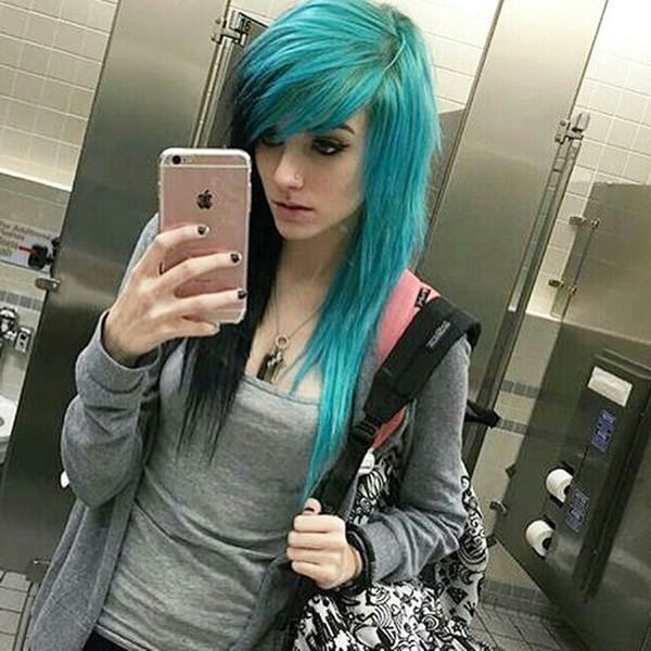 146 Awesome Emo Hairstyle For Every Girls Within Long Hairstyles Emo (View 13 of 25)