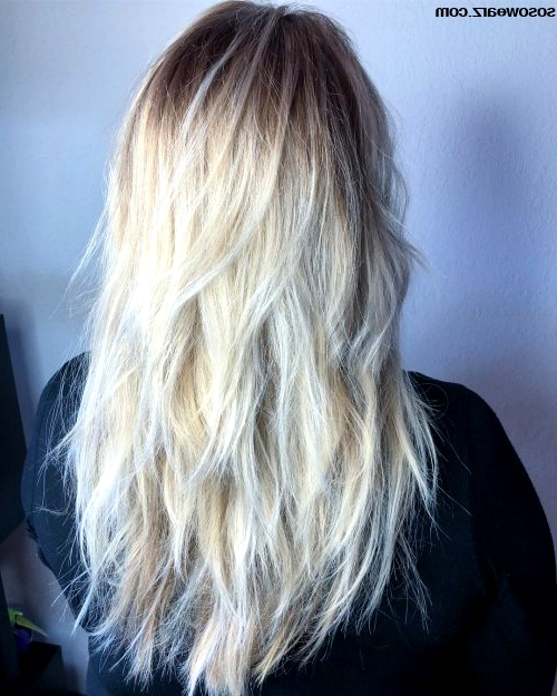 15 Best Collection Of Razor Cut Layers Long Hairstyles Razor Cut With Regard To Razor Cut Layers Long Hairstyles (View 12 of 25)