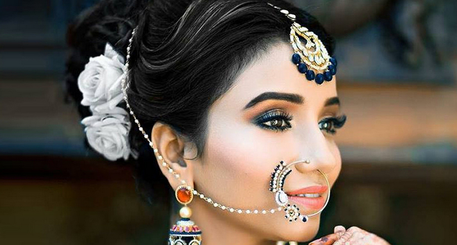 15 Best Indian Wedding Hairstyles For Short, Medium And Long Hair In Indian Bridal Long Hairstyles (View 6 of 25)