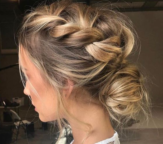 15 Coolest Christmas Braids And Braided Hairstyles – Styleoholic Intended For Casual Braids For Long Hair (View 12 of 25)