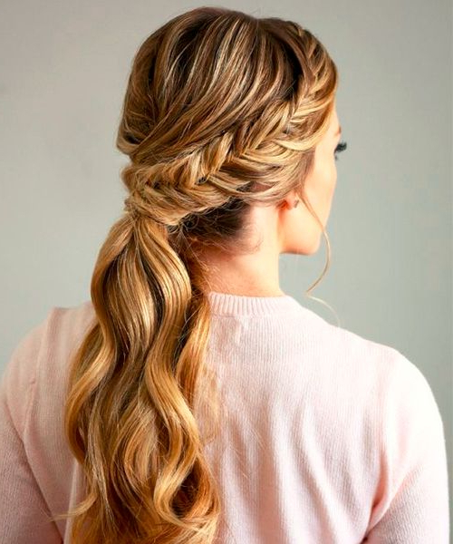 15 Coolest Christmas Braids And Braided Hairstyles – Styleoholic Pertaining To Casual Braids For Long Hair (View 11 of 25)