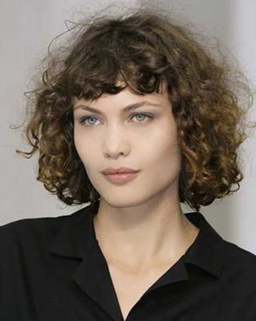 15 Curly Perms For Short Hair Within Long Permed Hair With Bangs (View 25 of 25)