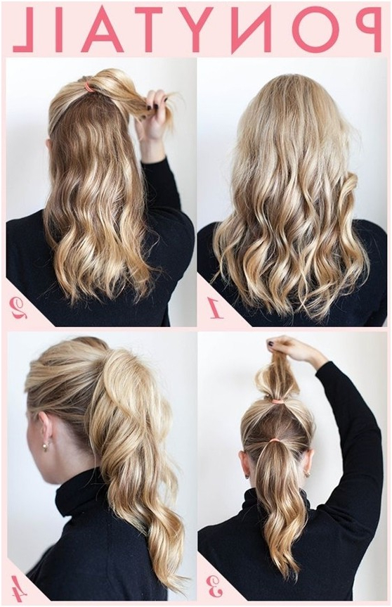 15 Cute And Easy Ponytail Hairstyles Tutorials – Popular Haircuts In Long Hairstyles Easy And Quick (View 8 of 25)