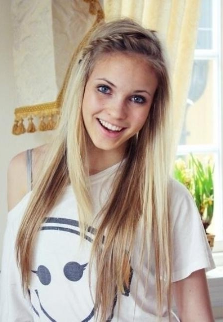 15 Cute Everyday Hairstyles 2019 – Chic Daily Haircuts For Girls With Long Hairstyles Cute (View 7 of 25)
