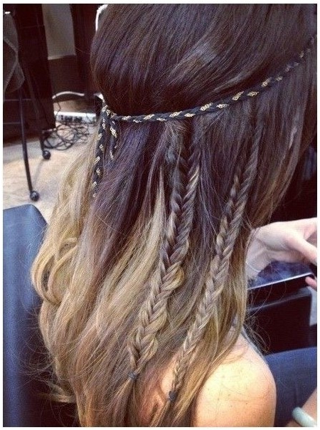 15 Cute Hairstyles With Braids – Popular Haircuts Pertaining To Cute Braided Hairstyles For Long Hair (View 16 of 25)