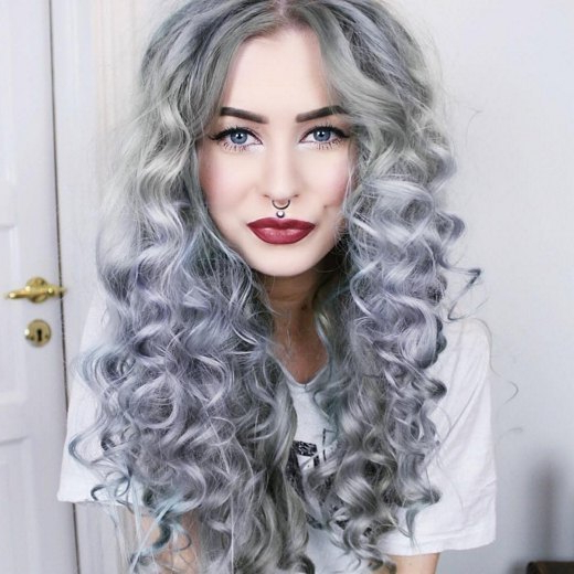 15 Different Types Of Perms Hairstyles Intended For Long Permed Hairstyles With Bangs (View 24 of 25)