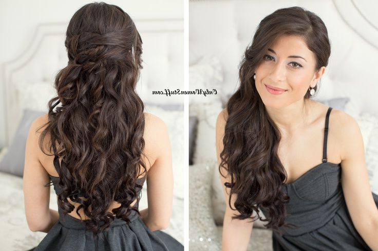 15 Easy Prom Hairstyles & Updos That'll Steal The Show Regarding Charming Waves And Curls Prom Hairstyles (View 21 of 25)