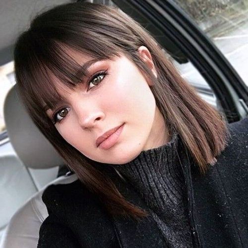 15 Edgy Bob Haircut Ideas With Bangs – Styleoholic Intended For Edgy Long Haircuts With Bangs (View 2 of 25)
