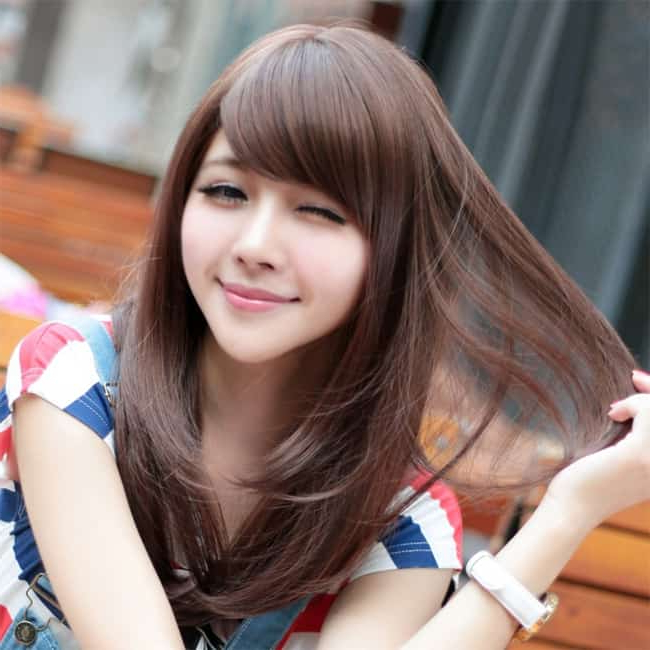 15 Famous Korean Hairstyles For Ladies – Sheideas In Long Hairstyles For Asian Women (View 15 of 25)