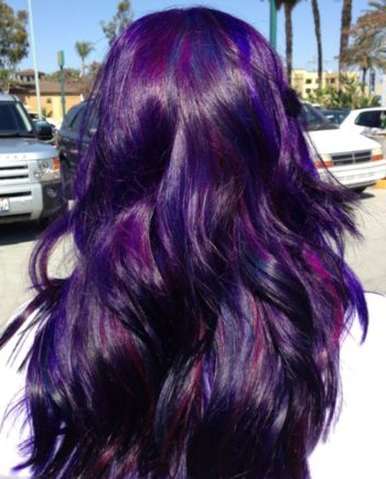 15 Fantastic Purple Hairstyles – Pretty Designs With Regard To Purple Long Hairstyles (View 3 of 25)