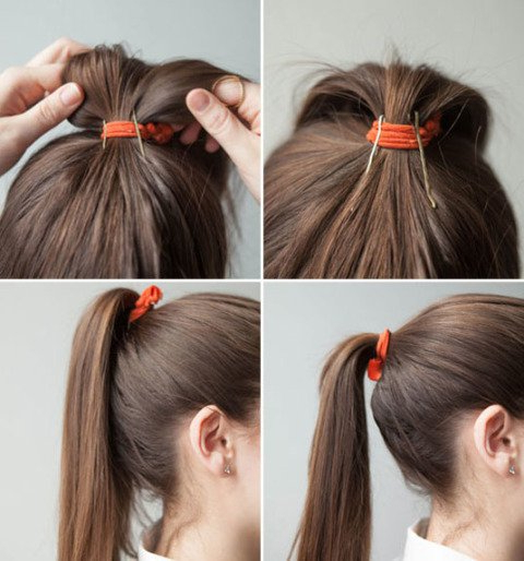 15 Gorgeous Bobby Pin Hairstyles That You Can Easily Do In A Minutes Intended For Long Hairstyles Using Bobby Pins (View 3 of 25)