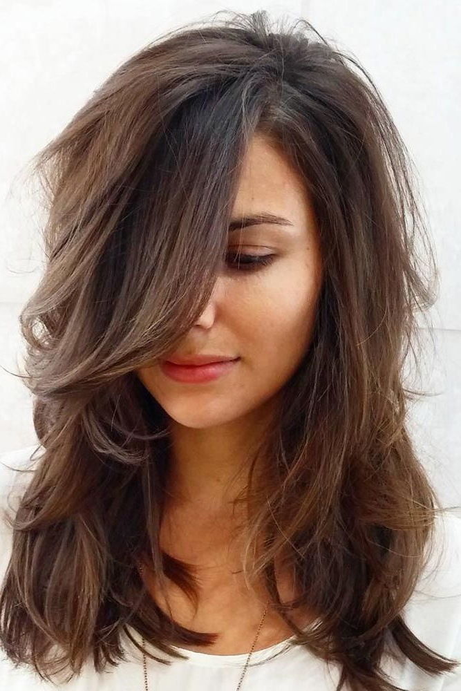 15 Gorgeous Haircuts For Heart Shaped Faces   Hair   Haircuts For With Long Hairstyles For Women With Thick Hair (View 20 of 25)