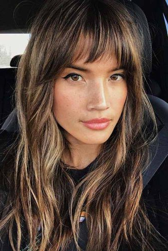 15 Gorgeous Haircuts For Heart Shaped Faces | Lovehairstyles In Messy Long Haircuts (View 24 of 25)
