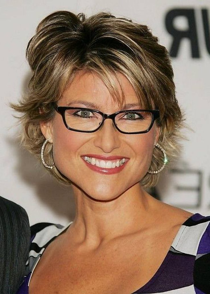15 Hairstyles For Women Over 50 With Glasses – Haircuts & Hairstyles Regarding Long Hairstyles For Girls With Glasses (View 8 of 25)