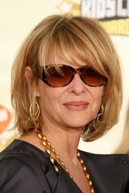 15 Hairstyles For Women Over 50 With Glasses – Haircuts & Hairstyles Regarding Long Hairstyles With Glasses (View 14 of 25)