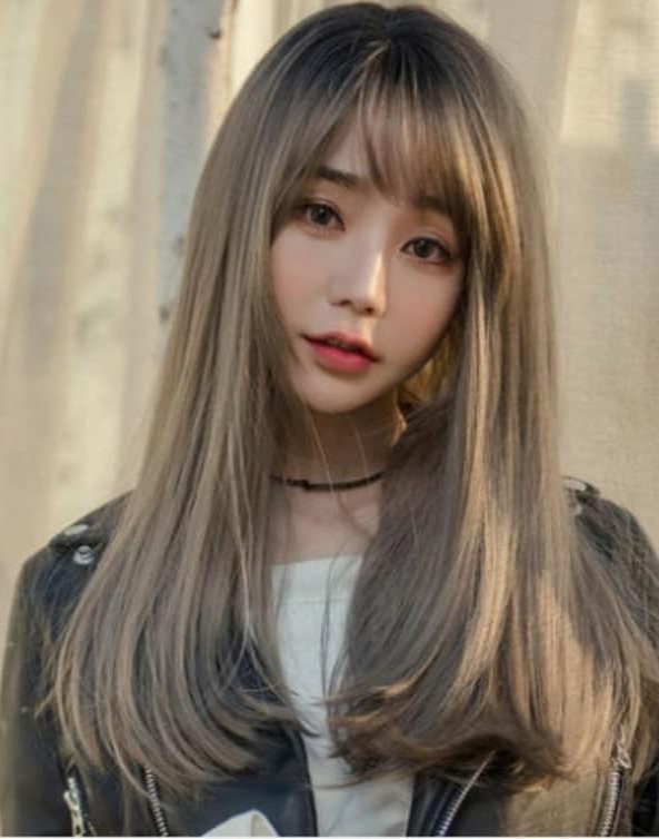 15 Korean Bangs Hairstyles That Are In Vogue With Korean Long Hairstyles (View 24 of 25)