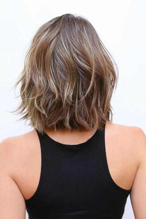 15 Long Bob Haircuts Back View | Bob Hairstyles 2018 – Short With Back View Of Long Hairstyles (View 15 of 25)
