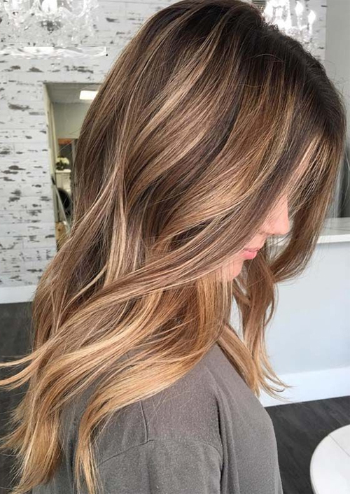 15+ Most Romantic Long Layered Hairstyles With Balayage Highlights With Regard To Long Hairstyles With Layers And Highlights (View 15 of 25)
