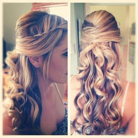 15 Pretty Prom Hairstyles 2019: Boho, Retro, Edgy Hair Styles With Long Hairstyles For A Ball (View 11 of 25)