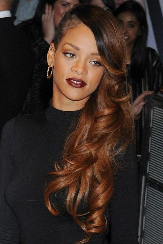 15 Rihanna Hairstyles: Different Haircut | Rihanna !! | Rihanna Hair Intended For Long Hairstyles Rihanna (View 3 of 25)