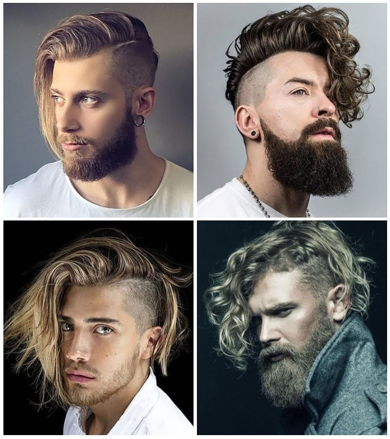 15 Sexy Long Hairstyles For Men – The Trend Spotter Inside Side Long Hairstyles (View 25 of 25)