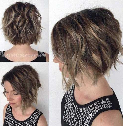 15 Short Haircuts For Thick Wavy Hair Throughout Long Haircuts For Thick Curly Hair (View 9 of 25)