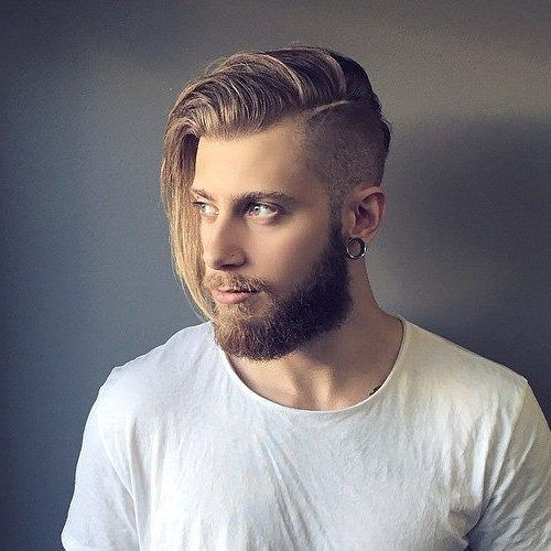 15 Slick Side Part Undercut Haircuts For Swell Fellows For Long Hairstyles With Side Part (View 16 of 25)