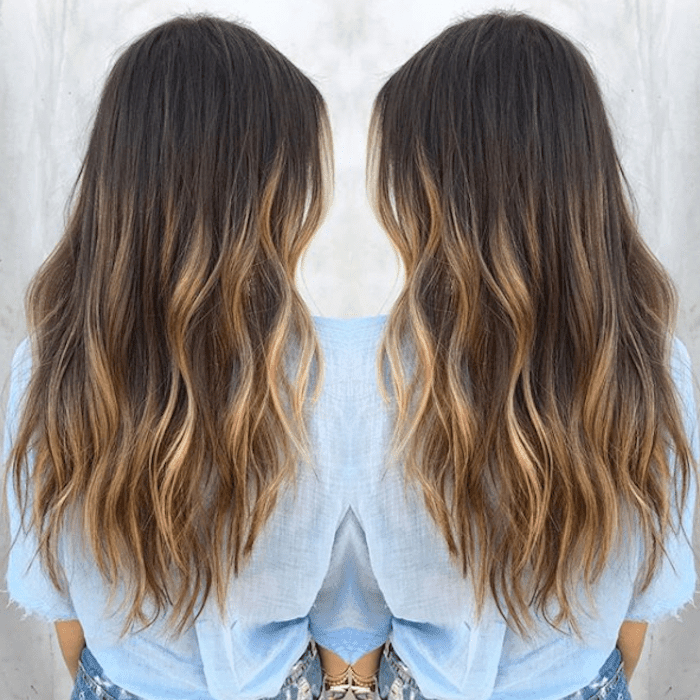 15 Stunning Examples Of Balayage Brown Hair Intended For Curly Golden Brown Balayage Long Hairstyles (View 15 of 25)