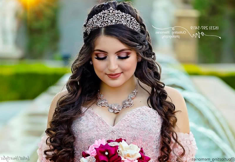15 Stunning Quinceanera Hairstyles To Consider With Regard To Long Quinceanera Hairstyles (View 24 of 25)