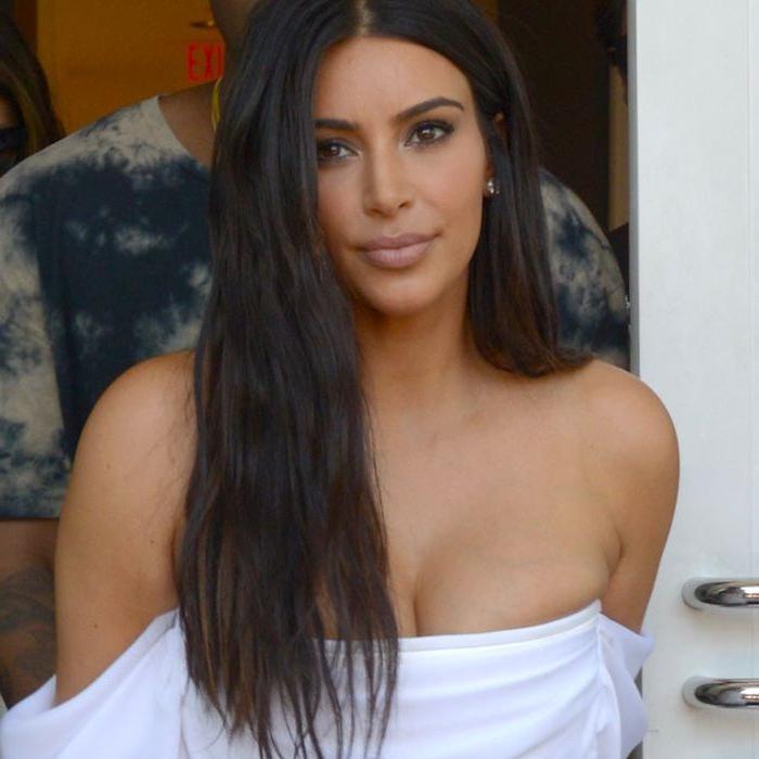 15 Times We Bowed Down To Kim Kardashian's Hair Intended For Long Hairstyles Kim Kardashian (View 12 of 25)