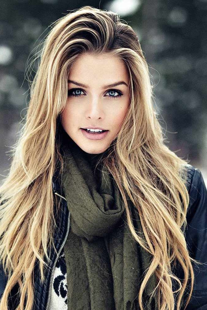 15 Trendy Hairstyles For Long Faces | Hairstyles | Long Hair Styles Within Long Hairstyles For Long Face (View 7 of 25)