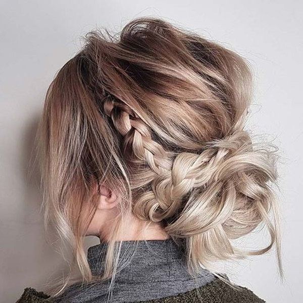 154 Easy Updos For Long Hair And How To Do Them – Style Easily Throughout Long Hairstyles Updos Casual (View 6 of 25)