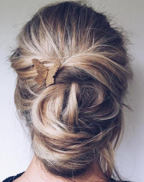 154 Easy Updos For Long Hair And How To Do Them – Style Easily Within Long Hairstyles Updos Casual (View 12 of 25)