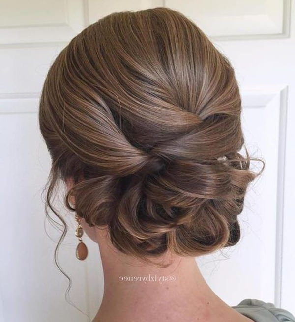 154 Updos For Long Hair Featuring Beautiful Braids And Buns Throughout Complex Looking Prom Updos With Variety Of Textures (View 7 of 25)