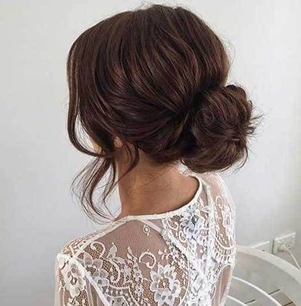 154 Updos For Long Hair Featuring Beautiful Braids And Buns Throughout Twisted Low Bun Hairstyles For Prom (View 18 of 25)