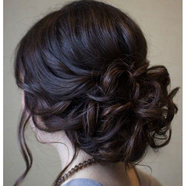 154 Updos For Long Hair Featuring Beautiful Braids And Buns Within Volumized Low Chignon Prom Hairstyles (View 11 of 25)