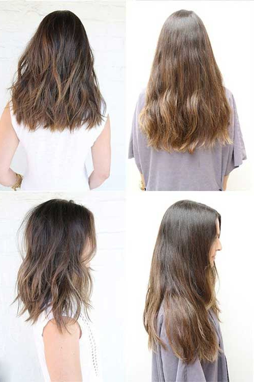 Featured Photo of Medium To Long Hairstyles
