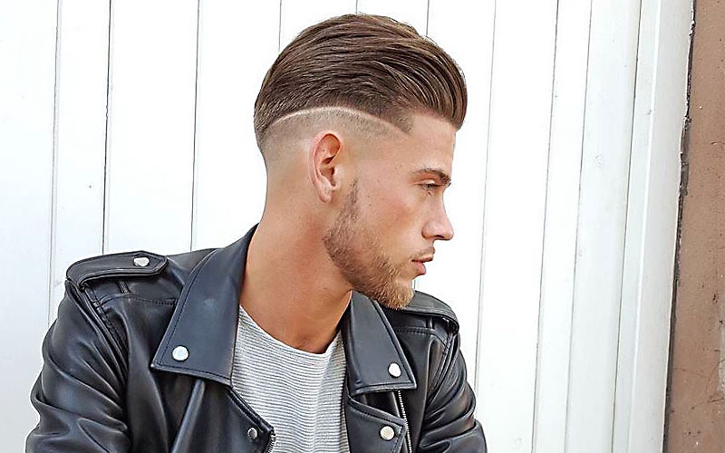 16 Cool Shaved Sides Hairstyles & Haircuts For Men With Long Hairstyles With Shaved Sides (View 12 of 25)