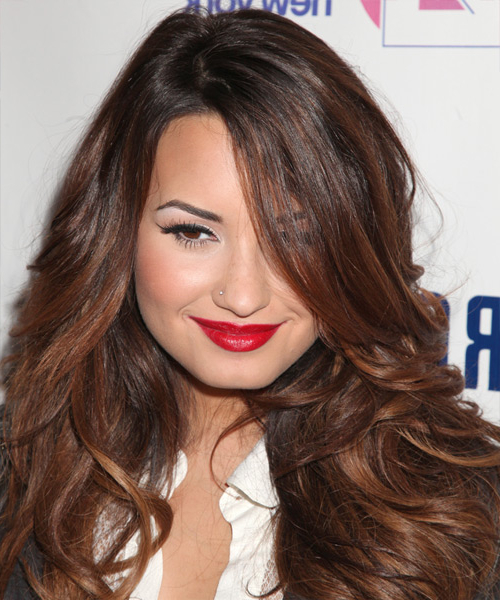 16 Demi Lovato Hairstyles, Hair Cuts And Colors Inside Demi Lovato Long Hairstyles (View 8 of 25)