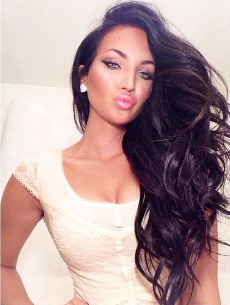 Featured Photo of Long Hairstyles For Dark Hair