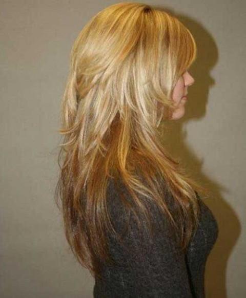 16 Images Of Short Layered Long Hair Haircuts | Localfoodsurrey For Short Layered Long Hairstyles (View 3 of 25)