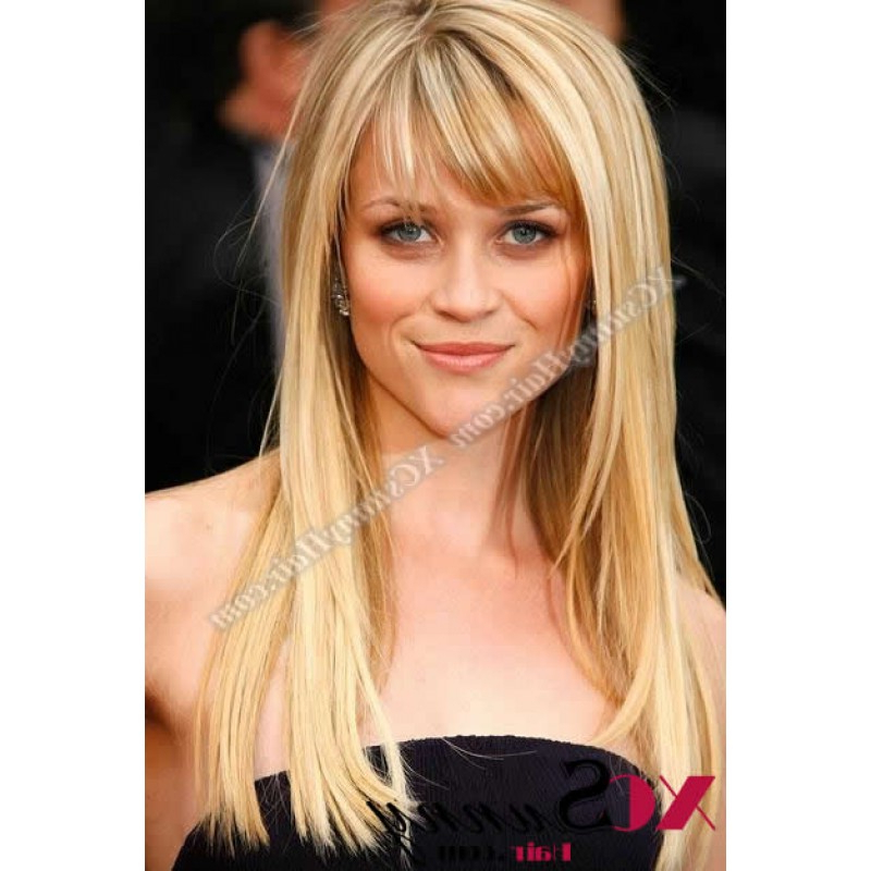 16 Inch #120 Full Lace Wigs Reese Witherspoon Long Hairstyle 100 Within Long Hairstyles Reese Witherspoon (View 2 of 25)