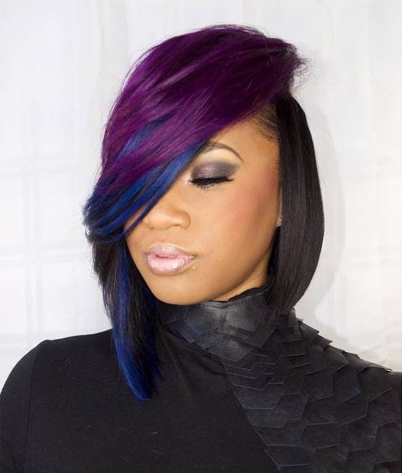 16 Quick Weave Hairstyles For Seriously Posh Women Inside Long Hairstyles Quick Weave (View 7 of 25)