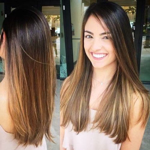 17 Alluring Haircuts For Long Straight Hair To Look Fluently Gorgeous For Long Haircuts Straight Hair (View 13 of 25)