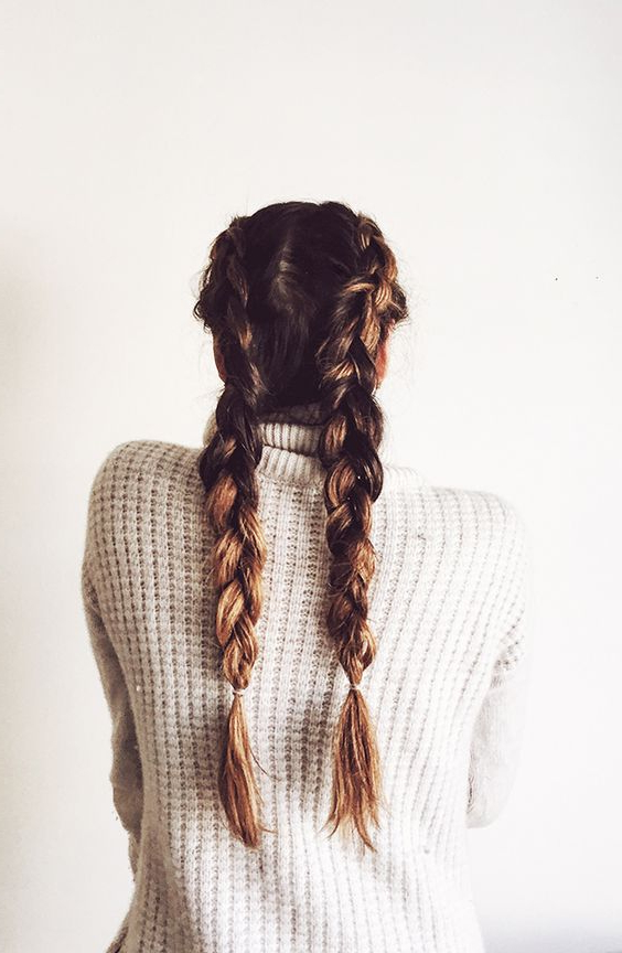 17 Chic Double Braided Hairstyles You Will Love | Styles Weekly With Regard To Braids Hairstyles For Long Thick Hair (View 18 of 25)