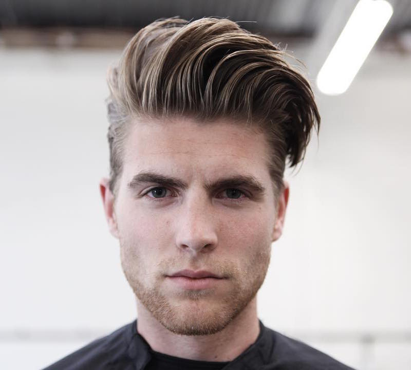 17 Cool Thick Hair Hairstyles + Haircuts For Men 2018 With Regard To Hairstyles Quiff Long Hair (View 10 of 25)