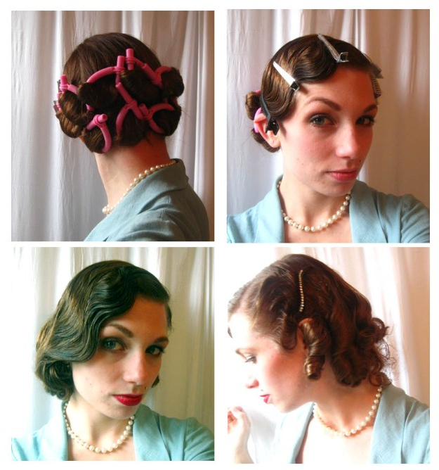 17 Easy Vintage Hairstyles Inside Easy Vintage Hairstyles For Long Hair (View 4 of 25)