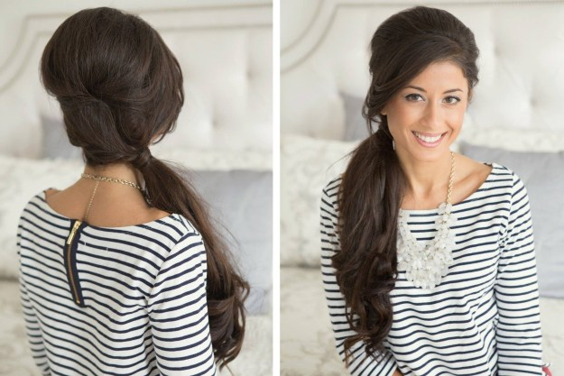 17 Easy Vintage Hairstyles Regarding Vintage Updos For Long Hair (View 19 of 25)