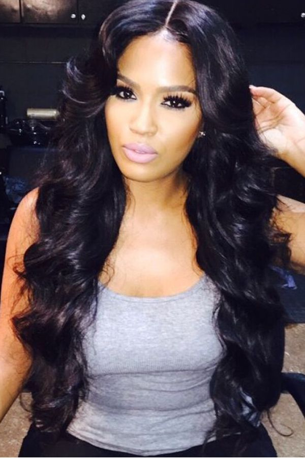 17 Hot Hairstyle Ideas For Women With Afro Hair Throughout Long Hairstyles For Black Woman (View 7 of 25)